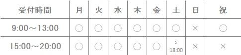 福岡県福岡市博多区堺整骨院グループ三苫院受付時間9:00~21:00